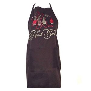 One size Bling Nail Tech apron